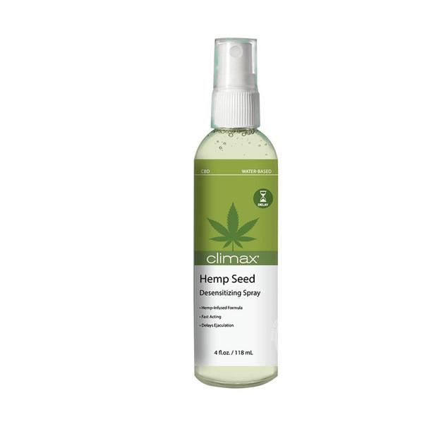 Climax Hemp Seed Desensitizing Spray 4 oz