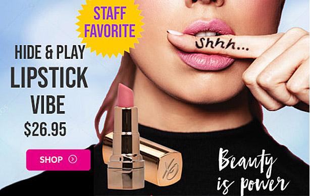 Hide & Play Lipstick Vibrator