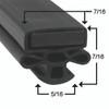 Masterbilt Door Gasket Profile 010 30 x 63 _2