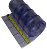 """8"""" Ribbed Freezer Strip Curtain Replacement Strip"""