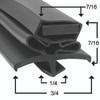 Beverage Air Door Gasket - Profile 016 21 1/4 x 29 1/2-703-159C