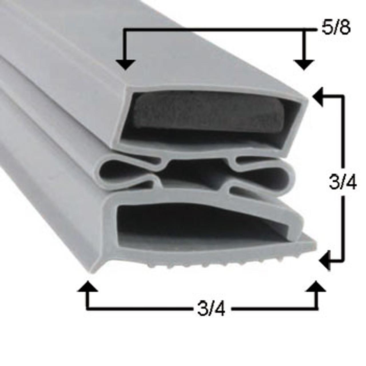 Dunhill Door Gasket Profile 494 19 1/2 x 22 1/8 -2