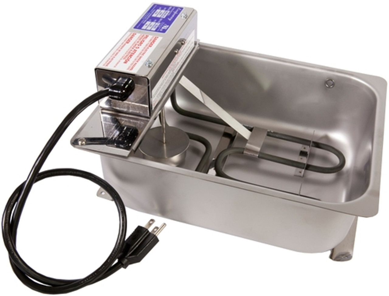 Fisher DM15WW-1D Commercial Refrigeration Condesnsate Evaporator Pan