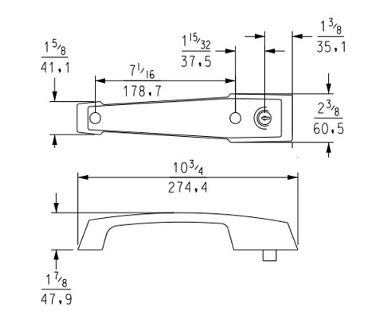 Kason-1229C-Cylinder-locking-handle-with-inside-release-11229C00025-11229C00029-dimensions
