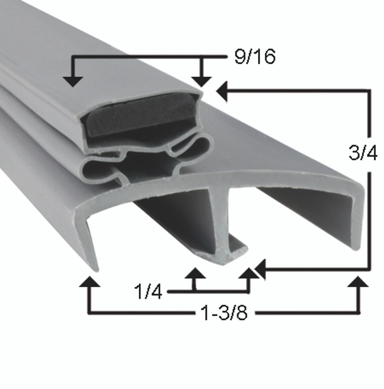 Victory Door Gasket Profile 085 16 5/8 x 25 1/8 -2