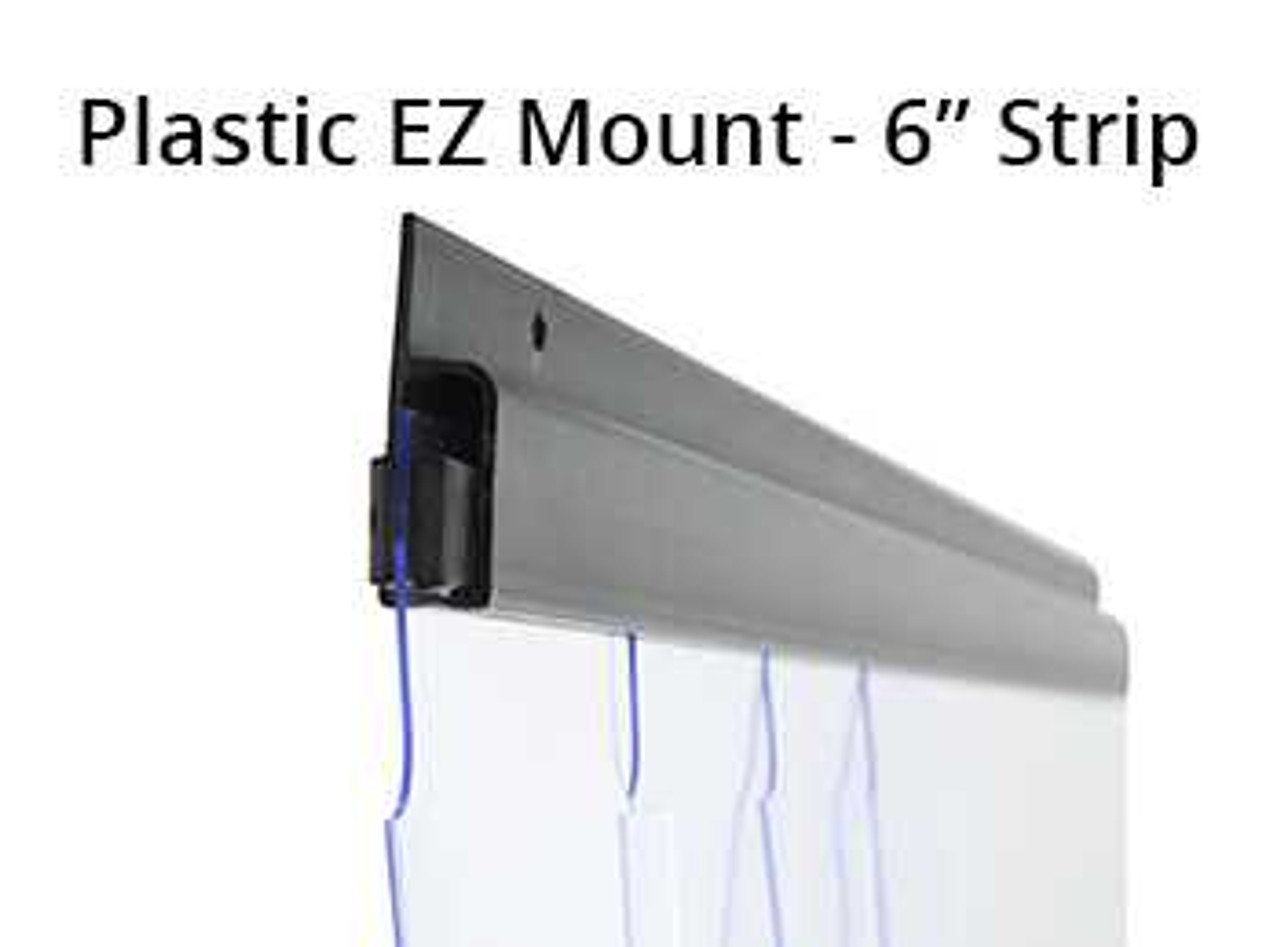 "Walk-in Cooler Strip Curtain Kit 32"" x 84"" Strip Curtain Kits 73.81"