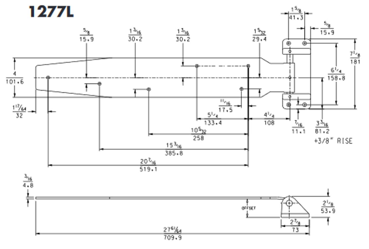 1277L-Kason-heavy-duty-hinge-long-drawing-1277L00008-11277L00010-11277L00012-11277L00016
