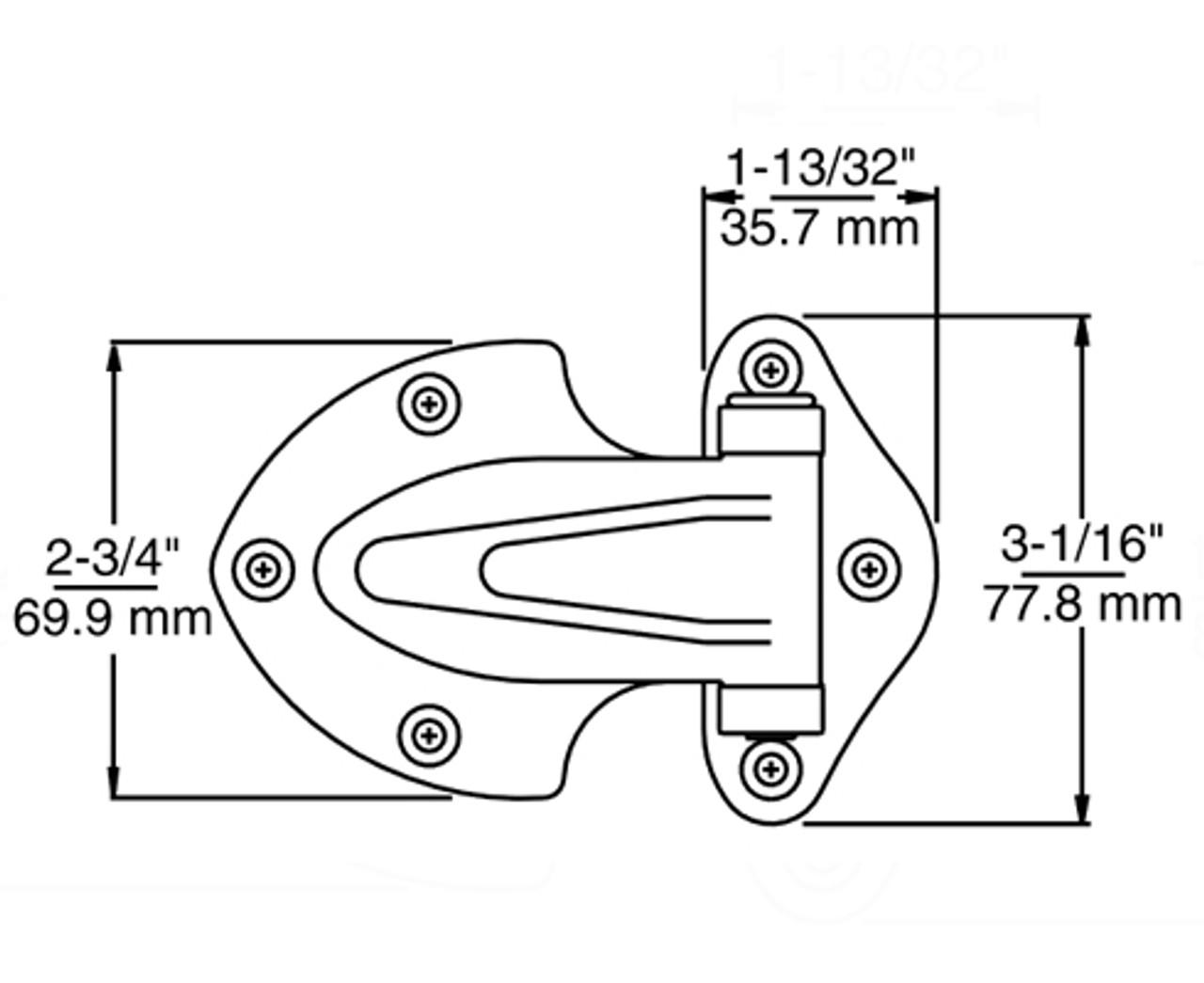 Kason-139-Narrow-flange-hinge-diagram-10139000004-10139000032-10139000040