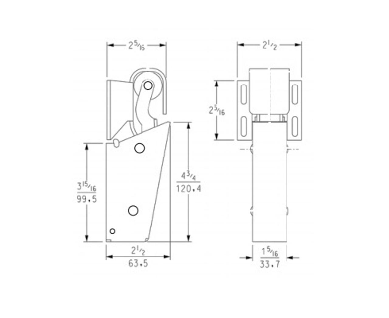 Kason-1095-door-closer-and-hook-11095000013-11094000027-11094000026-dimensions