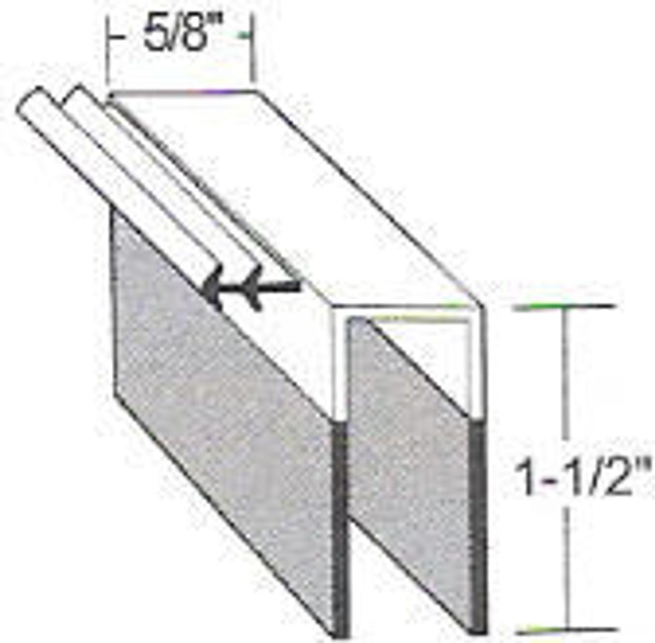 """Kolpak-Door-Sweep-36-3/4""""-door-sweep-Kolpak-63-115-532112565-non-adjustable-18717S-K30222-K3478-WICWIF-18402S-18803S1"""