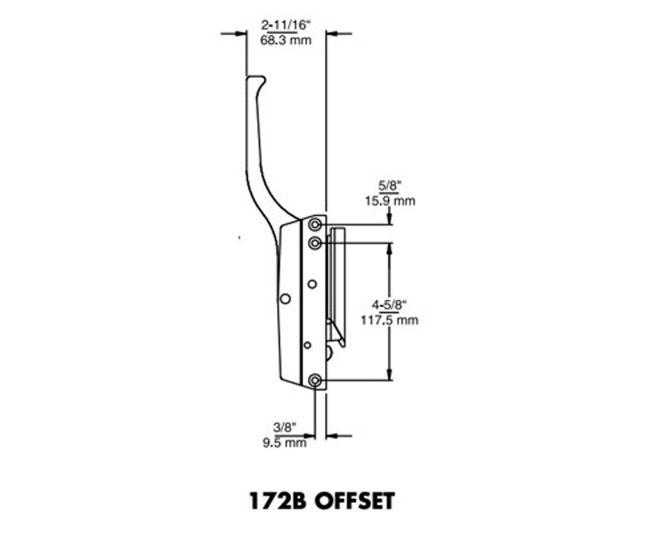 Kason-172-series-latch-10172B00006-10172BC0006