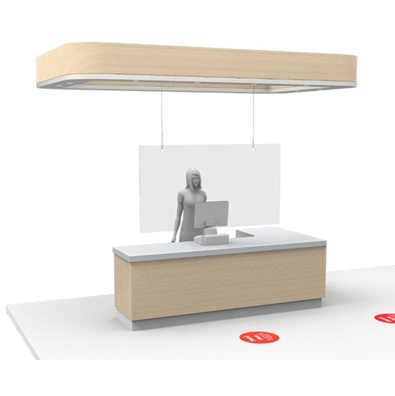 Hanging-safety-barrier-for-registers-to-protect-employees-and-customers