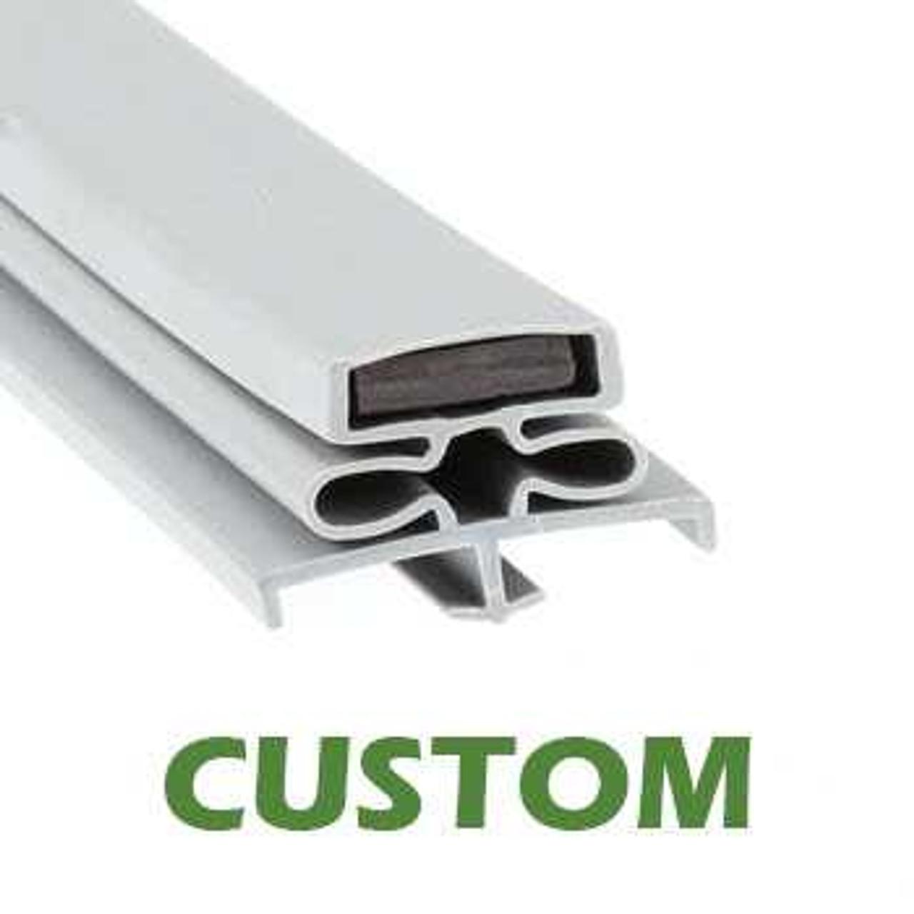 Profile 166 - Custom Refrigeration Gasket Custom Gaskets 0