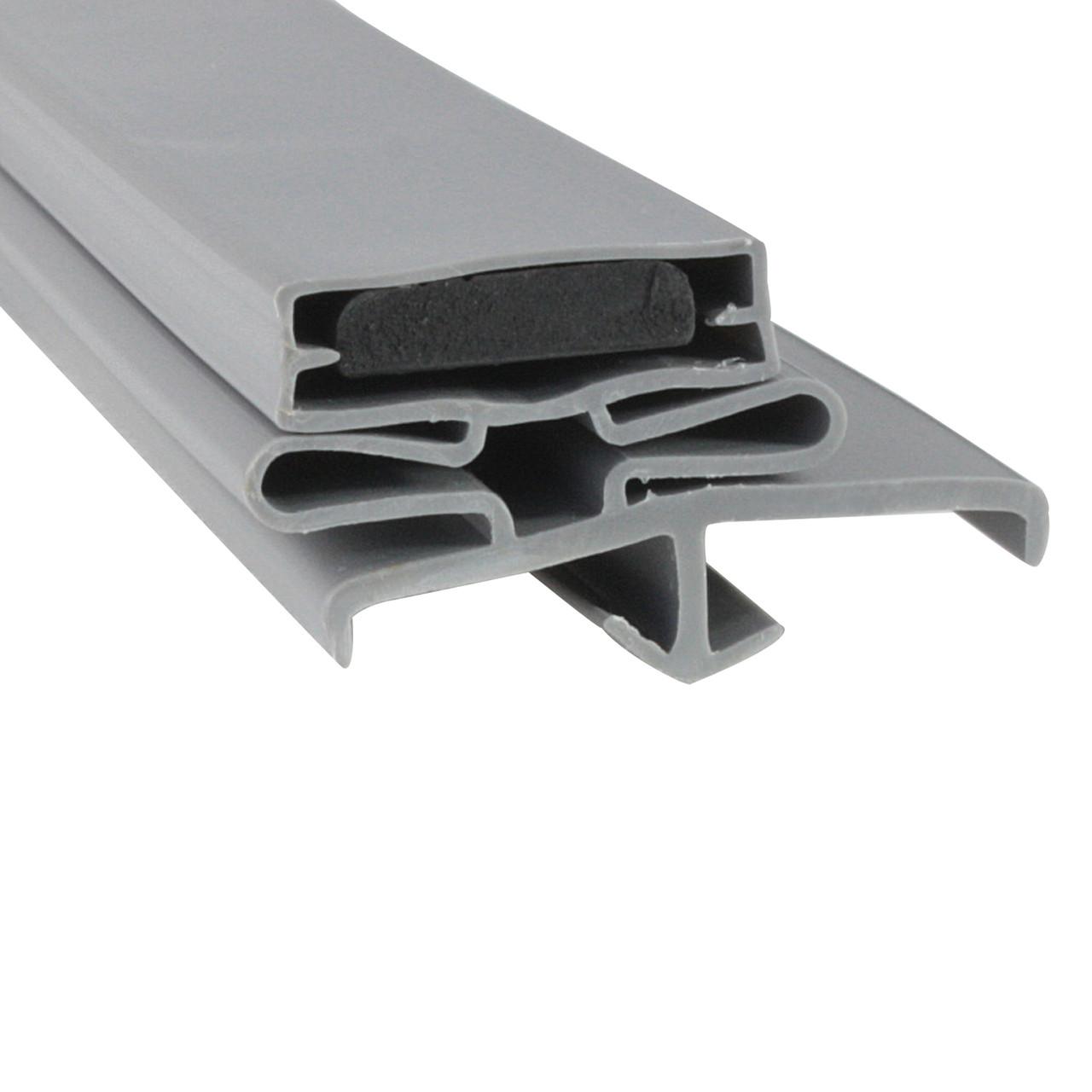 Delfield Door Gasket Profile 168 22 7/8 x 59 1/4 -A2.0881, 170-2295-C