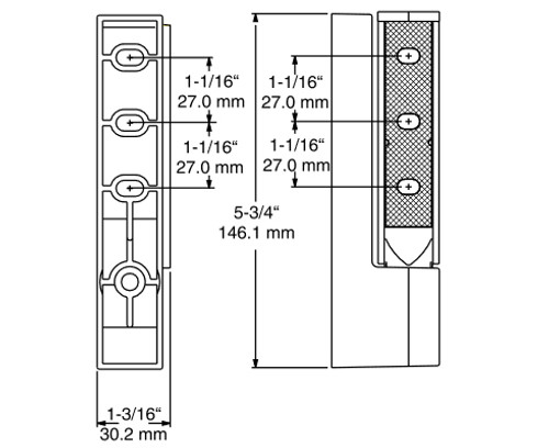 Kason-1467R-Double-Adjustable-Hinge-diagram-11467R00014