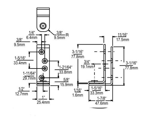 Kason-7305-Stainless-Steel-Pivot-Hinge-drawing-67305000076