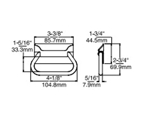 Kason-7313-reach-in-handle-67313000004-dimensions