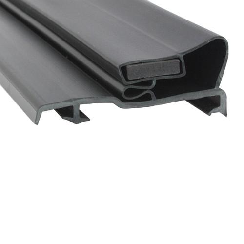 McCall Cooler and Freezer Door Gasket Profile 290 24 7/8 x 59 1/2 (Style 9535)