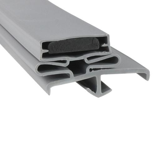 Schmidt Cooler and Freezer Door Gasket Profile 168 38 x 77 (Style 9532)