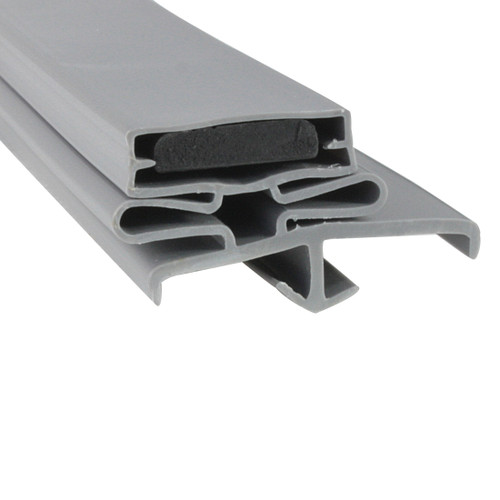 Schmidt Cooler and Freezer Door Gasket Profile 168 38 x 78 1/2 - 3 sided (Style 9532)