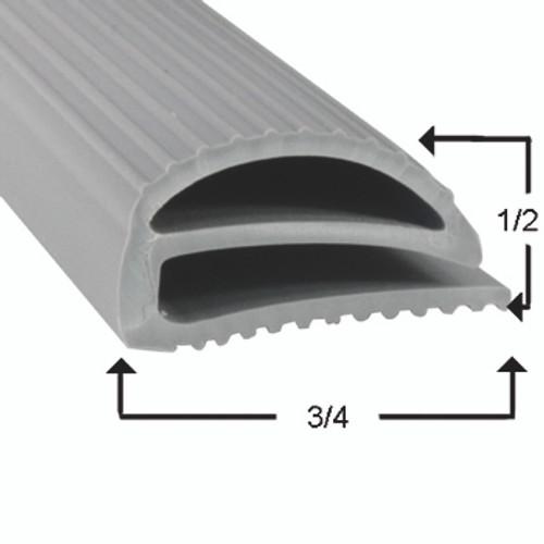 Utility Door Gasket Profile 048 7 3/4 x 28 5/8 -2