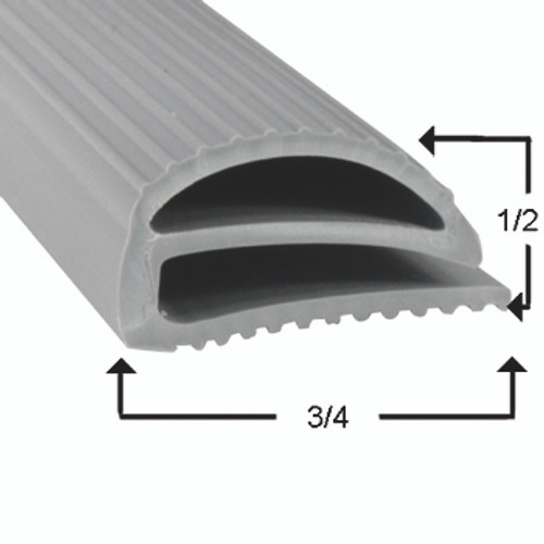 Atlas Door Gasket Profile 048 21 x 25