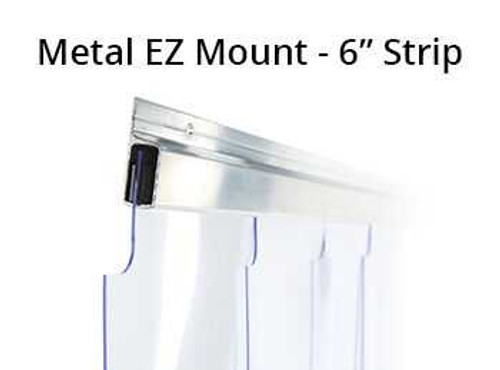 "Build Your Own Strip Curtain Kit - 6"" Strips Strip Curtain Kits 0"