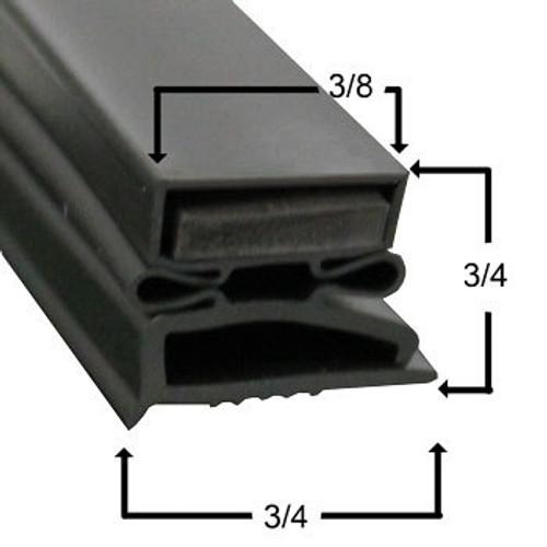 Custom Warmer Gasket Profile 496 (Style 2250BH)