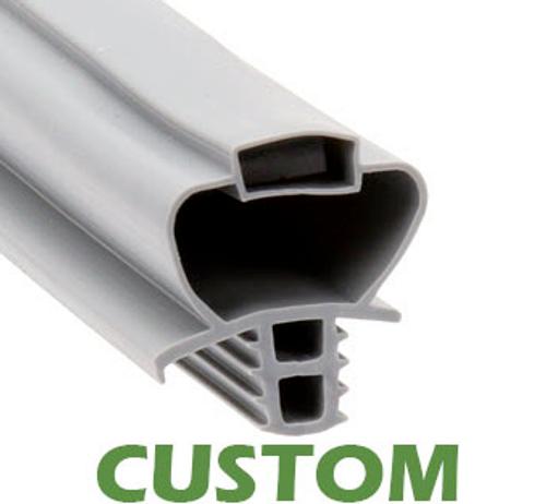 Custom Size Cooler and Freezer Gasket Profile 893 (Santoprene) (Style 2049)