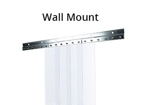 Generic Cooler Strip Curtain Kit 48 X 84 8 Wide Strips