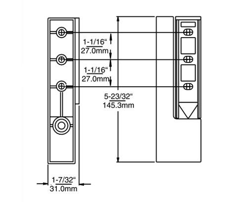 Kason-1267-cam-rise-hinge-drawing-1267WT0014