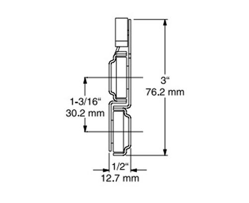 Kason-2-rail-drawer-slides-6052100001312-6052100001314-6052100001316-6052100001318-6052100001320-6052100001322-6052100001324-6052100001326-6052100001328-dimensions