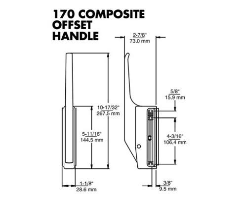 Kason-170-series-latch-diagram-10170000008