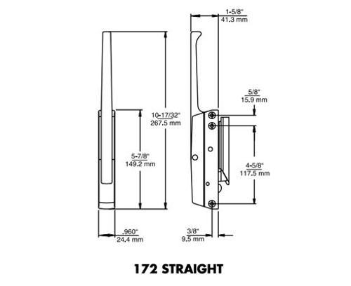 Kason-172-series-latch-10172000006-10172C00006