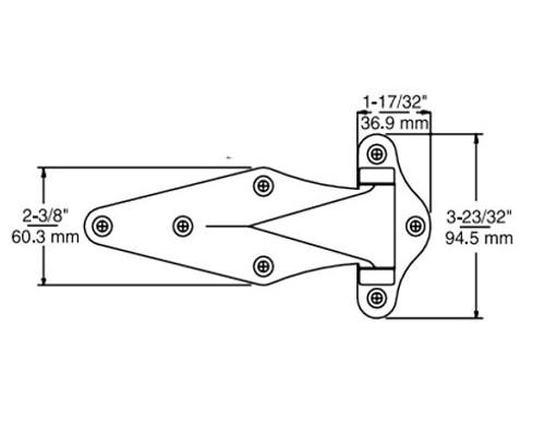 Kason-1071-Narrow-flange-hinge-11071000032-11071000040-11071A00036-11071A00044-dimensions