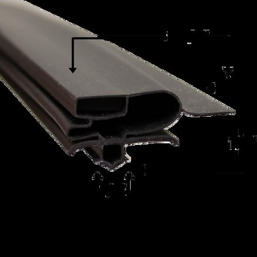 Turbo Air Door Gasket Profile 697 27 x 28 1/4