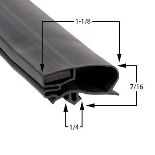 Aftermarket-Anthony-Door-Gasket-Profile 227-29-7/8-x-72-02-14160-2045-2