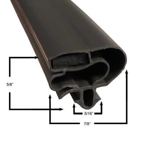Beverage Air Door Gasket - Profile 599 20 5/8 x 33 1/8-2