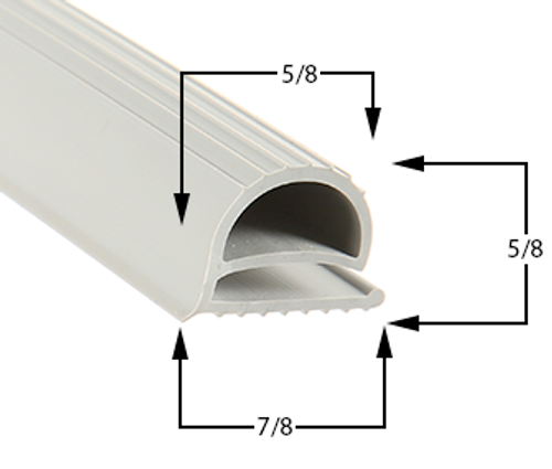 Profile 049 - Custom Refrigeration Gasket