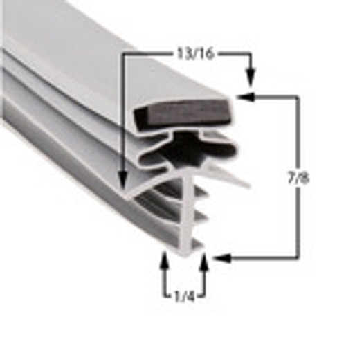Custom Size Cooler and Freezer Gasket Profile 301 (Style 9539)