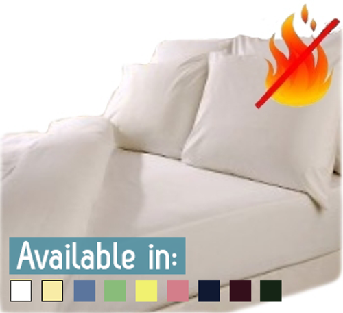 Fire Retardant Fitted sheets (BS 7175-Crib 7)