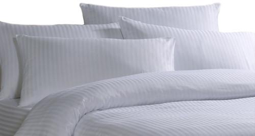 Cotton Rich Satin Stripe Duvet Covers