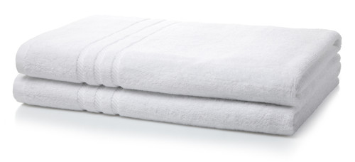 600GSM Luxury Royal Egyptian Double Yarn Bath Sheets - White