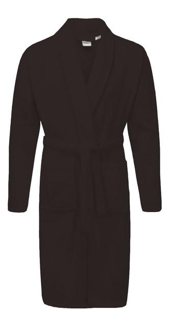 Black Terry Towelling Bath Robes