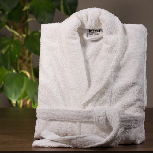 High Quality Turkish Cotton Terry Towelling Bath Robes - XL