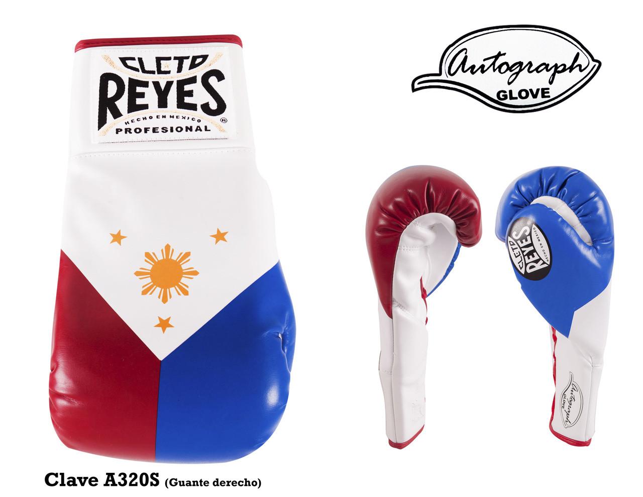 Cleto Reyes Autograph Glove - Standard - Philippines Flag