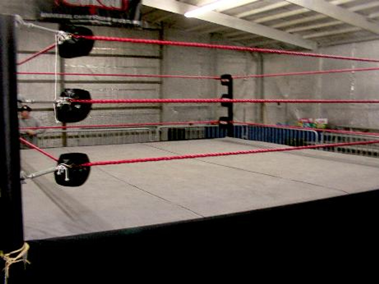16 Foot Professional Wrestling Boxing Ring Canvas Cover Black Color