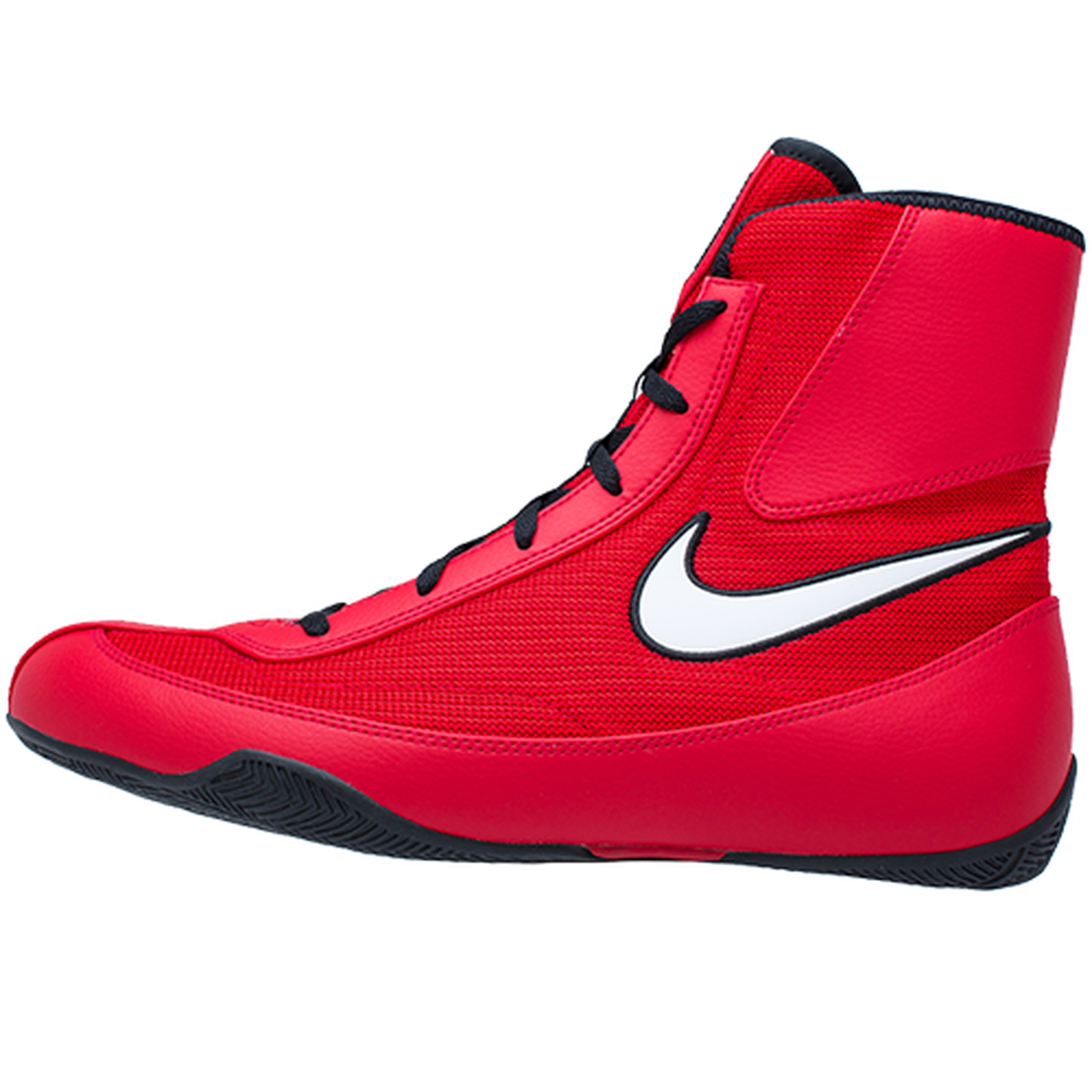 Color rosa Excelente convertible  Nike Machomai 2.0 Red/White Boxing Shoes - PRO FIGHT SHOP