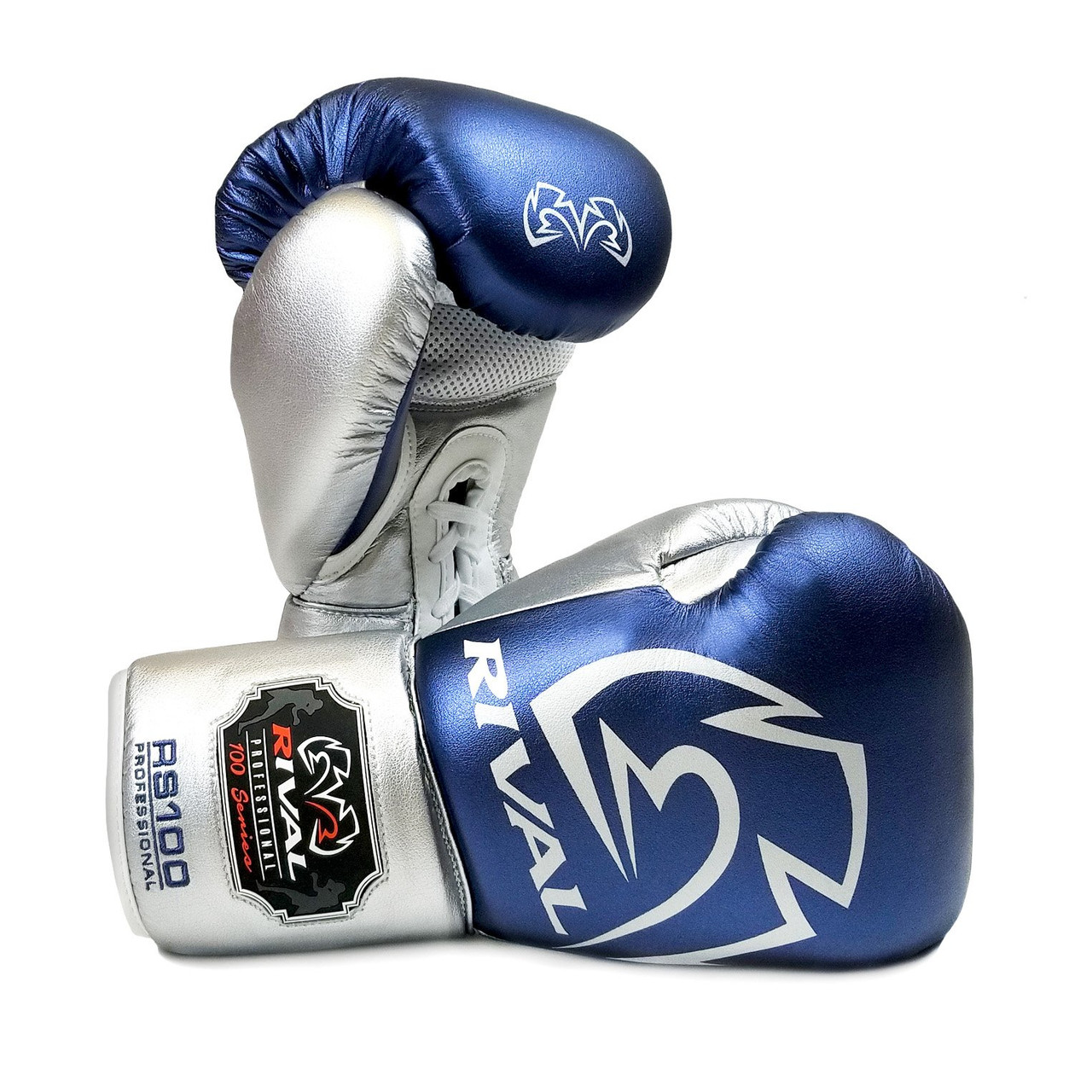 Rival Boxing Gloves RS100 Professional Sparring Gloves Green Gold