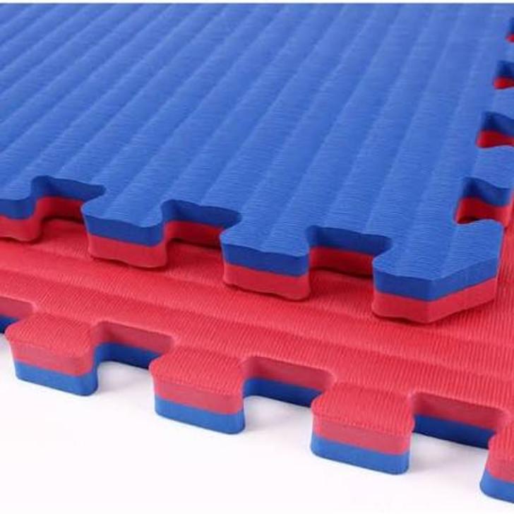 Reversible Tatami Mat - Blue/Red
